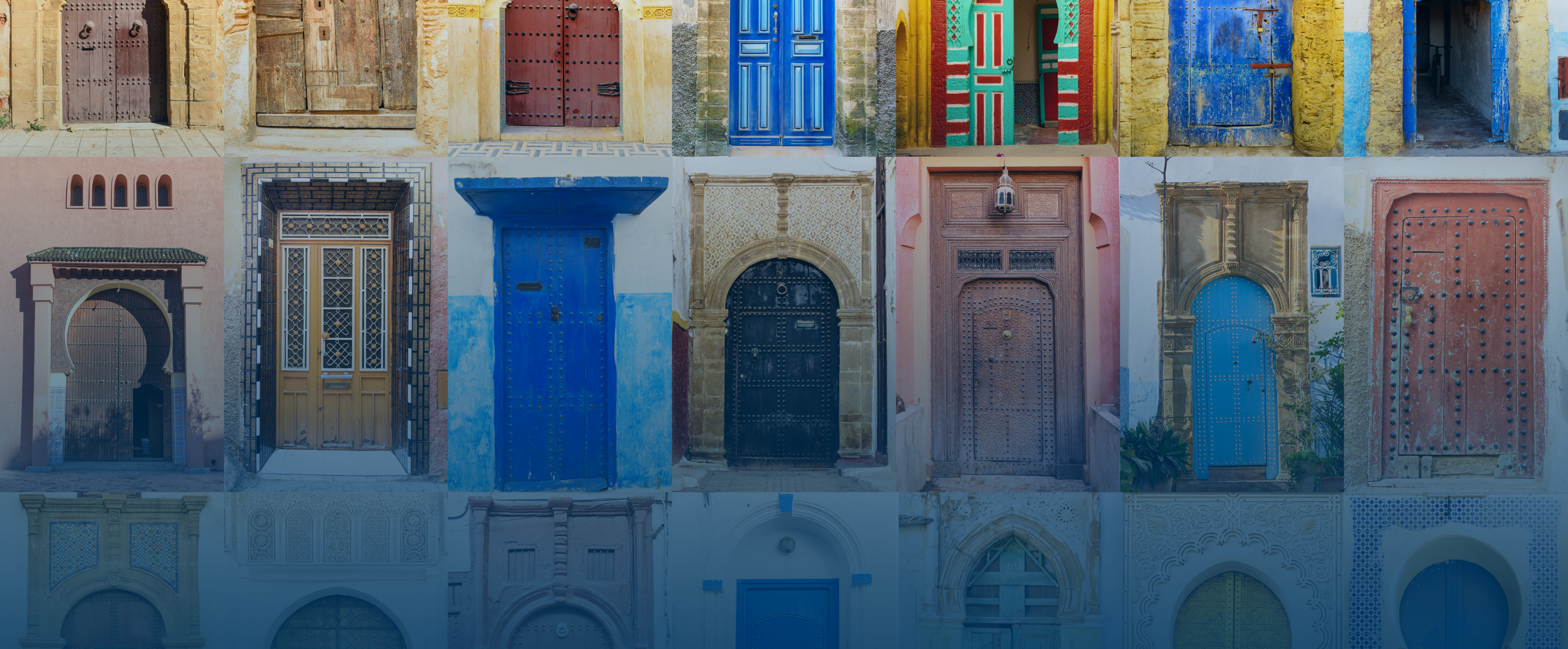 2019 MENA Forum Photo of Moroccan Doors
