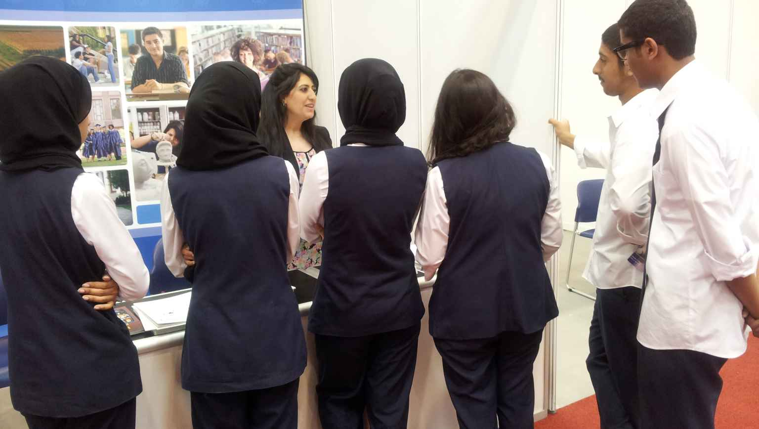 International Students at EducationUSA information session
