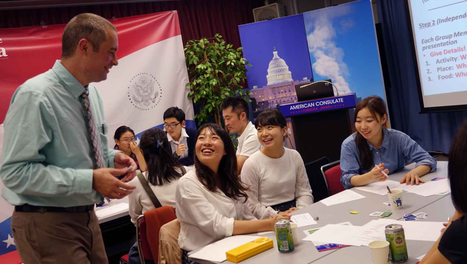 EducationUSA Seminar at Fukuoka American Center