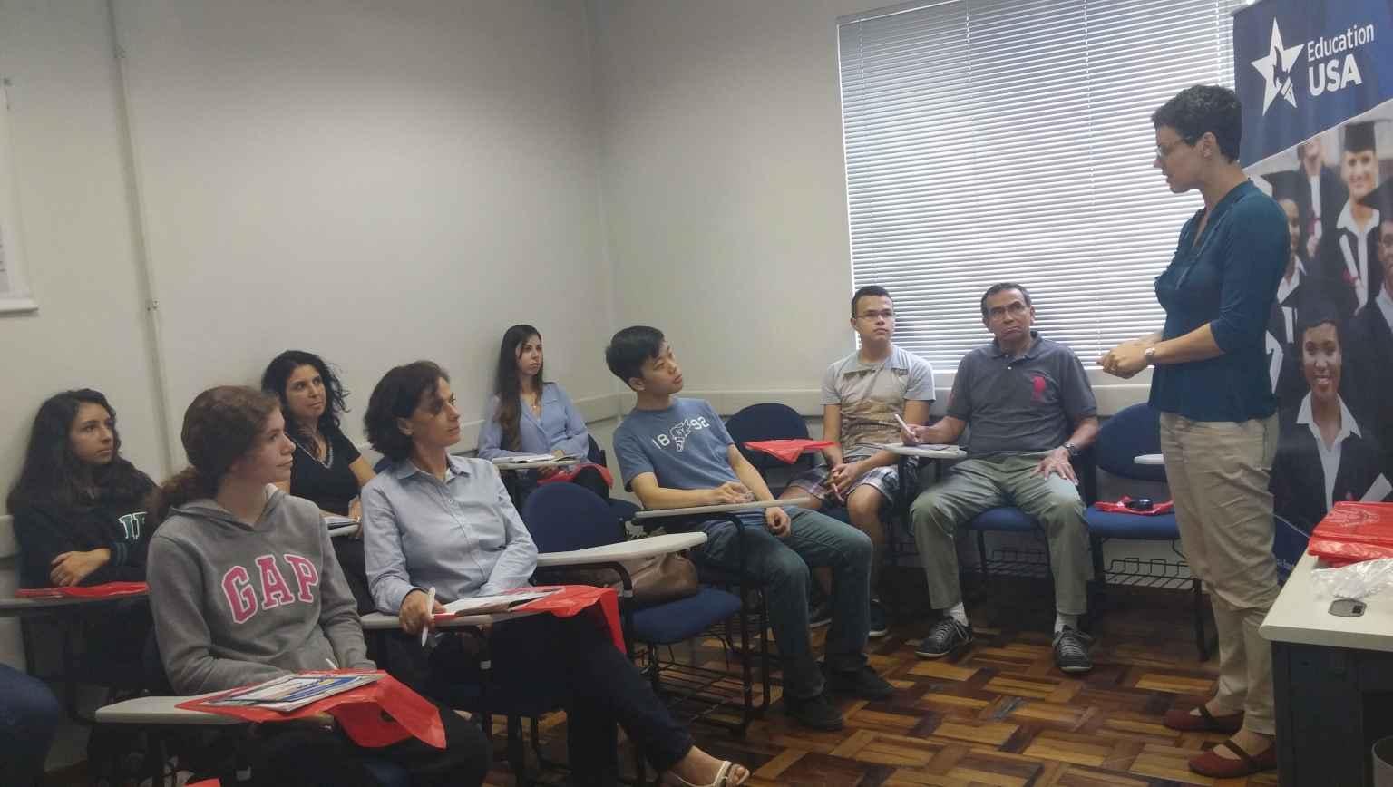 Palestra EducationUSA - International student course introduction