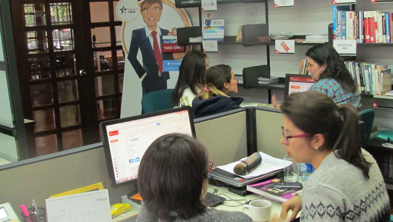 EducationUSA Colfuturo avdising center