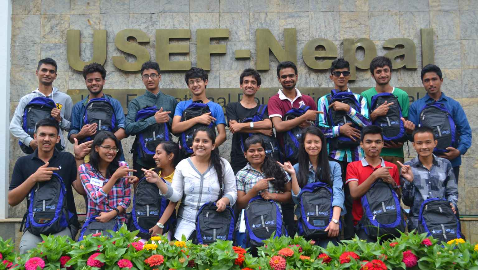EducationUSA Nepal Opportunity Funds Program students