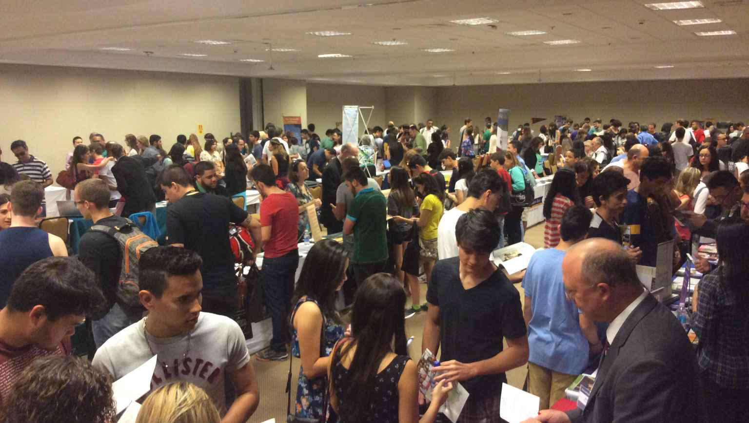 EducationUSA Fair in Brasilia, Brazil for internation study opportunites