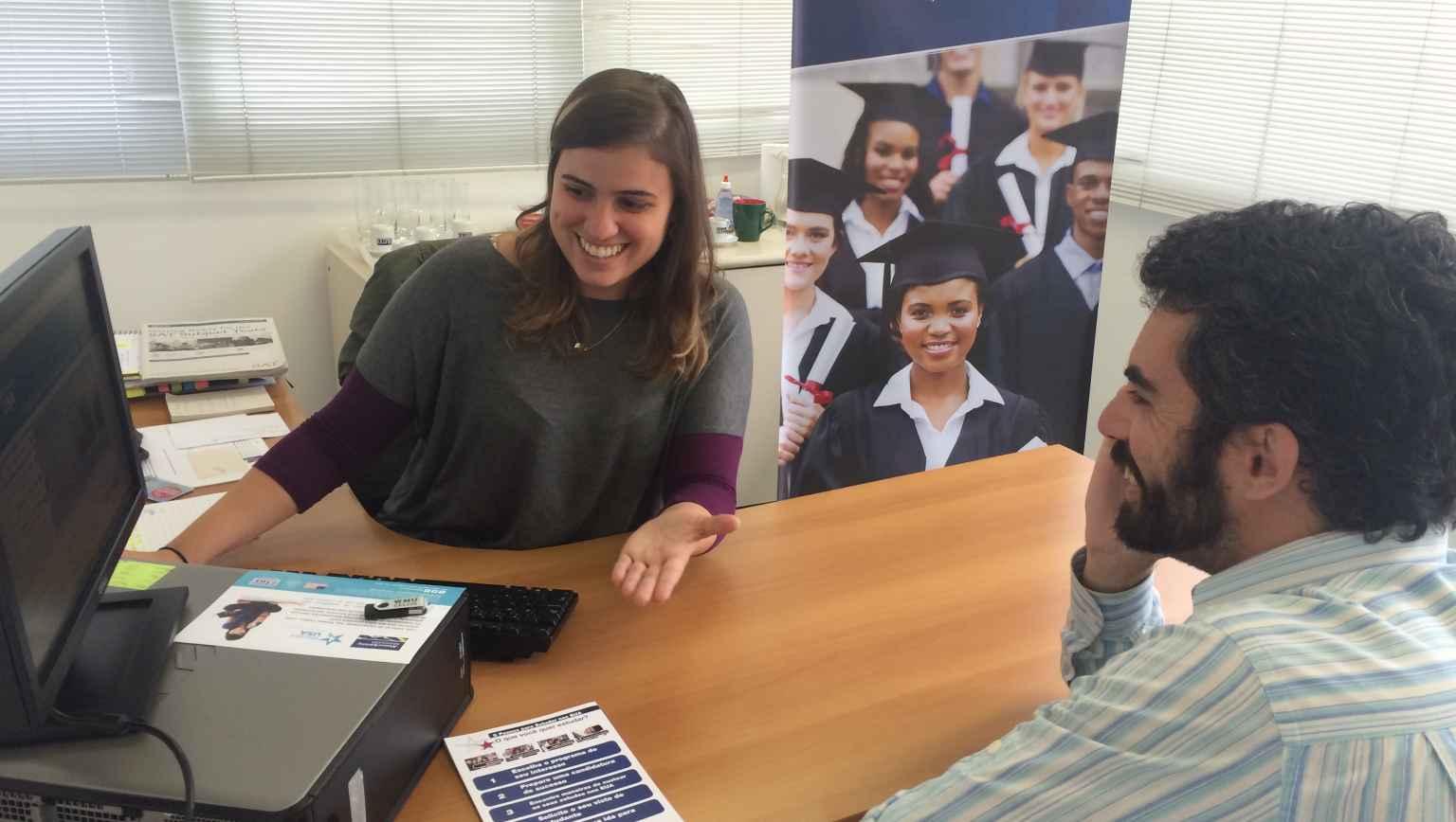 International student financial aid advising for EducationUSA in Sao Paulo