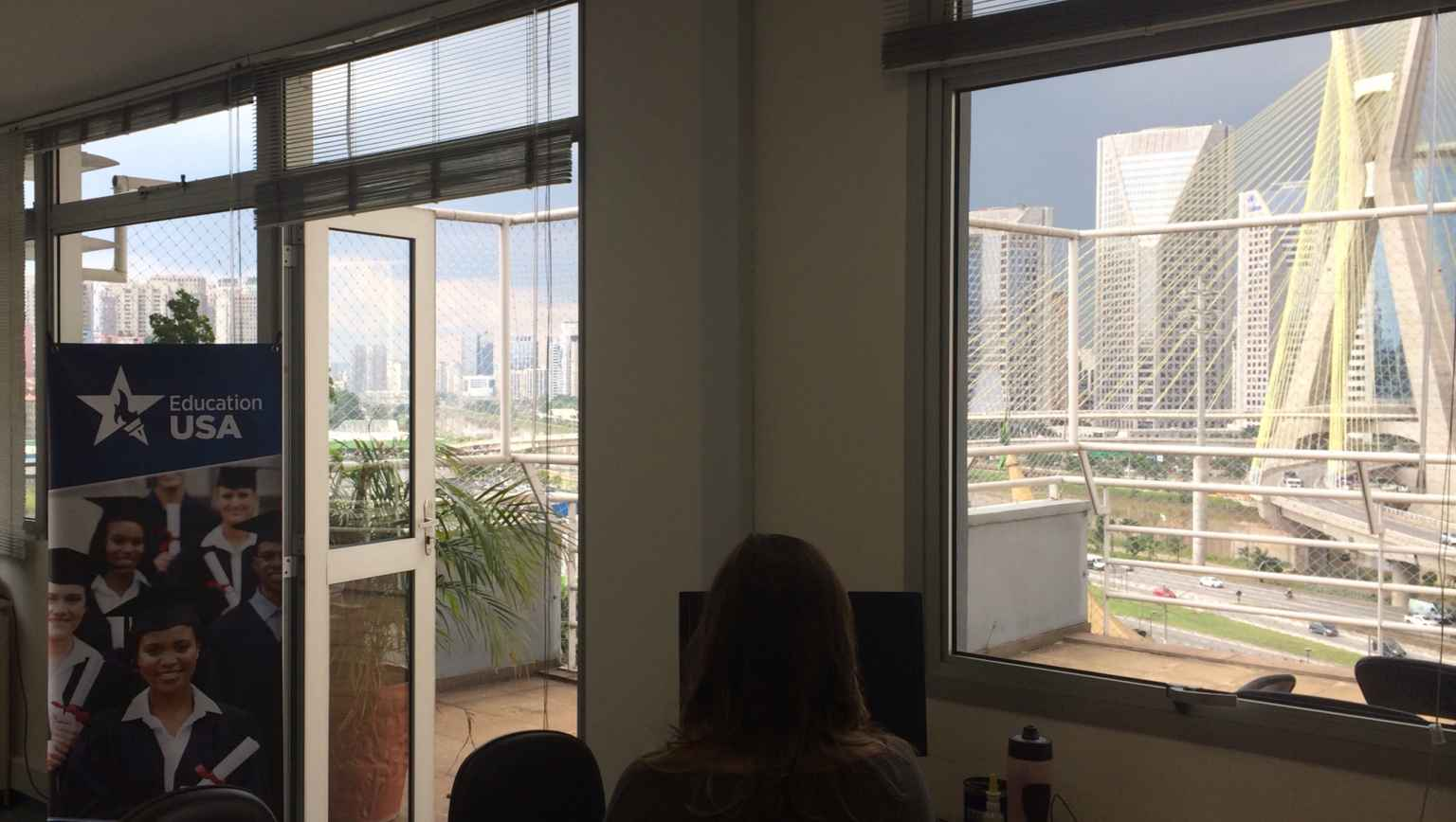 US study office in Sao Paulo