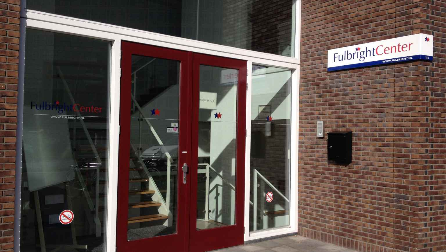 Fulbright Center Advising Center Entrance