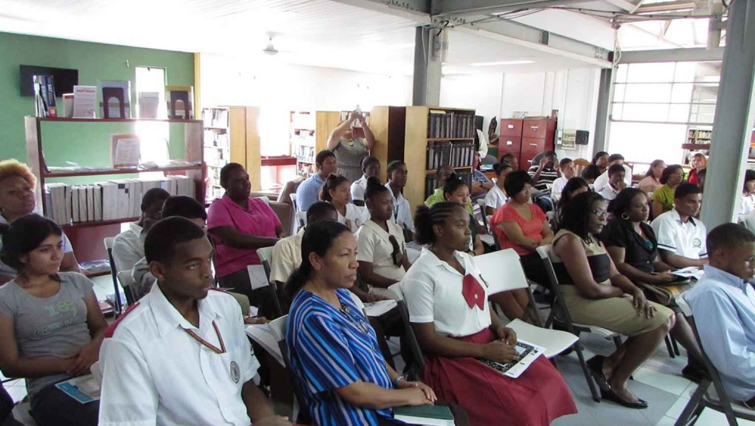 Info Session at Belize EdcuationUSA Advising Center