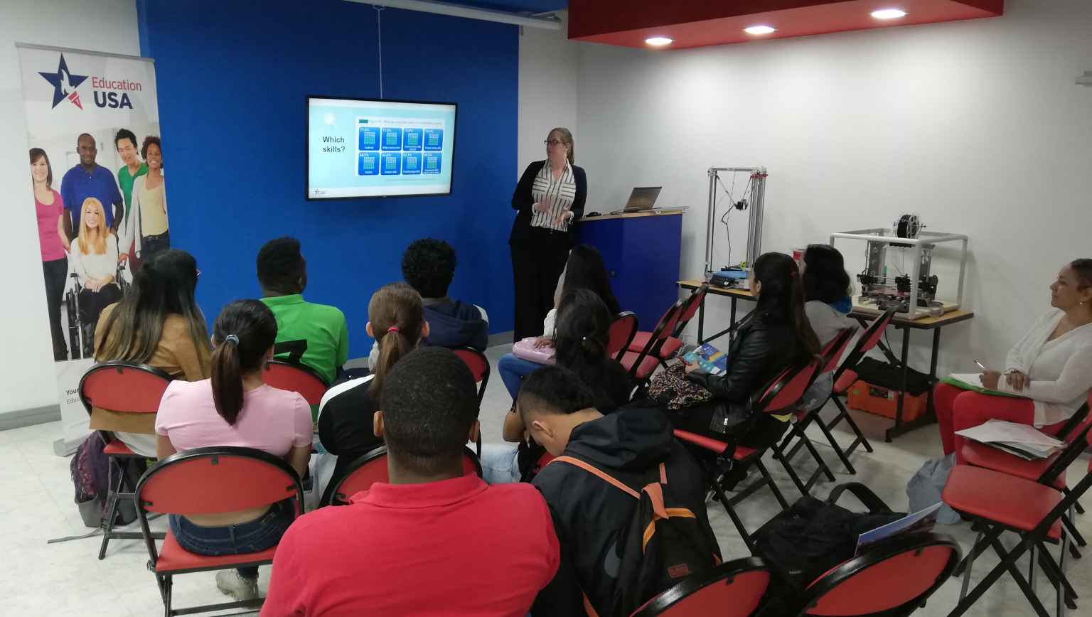 Some U.S. Universities visit The EducationUSA Center in Cali to meet local students and talk about their institutions.
