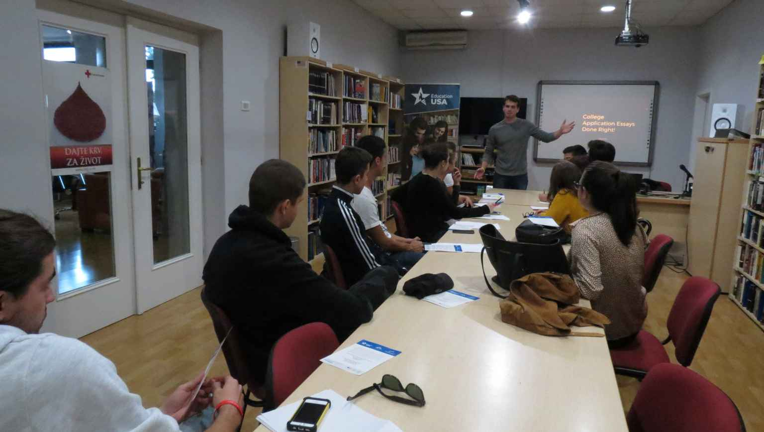 College Application Writing Workshop with Fulbright ETA