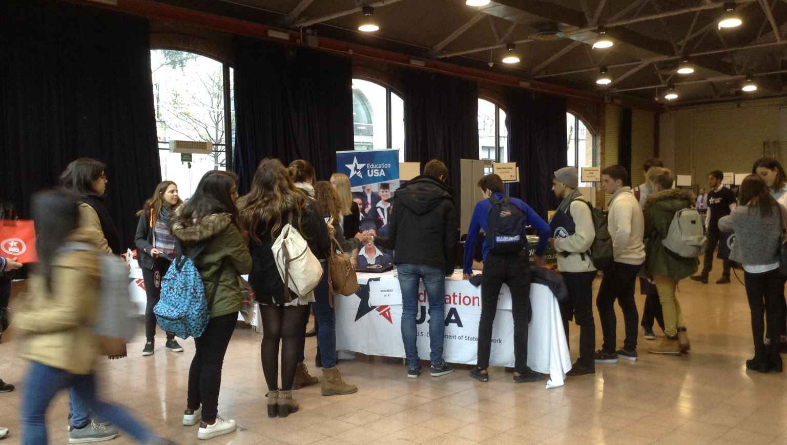 EducationUSA Spain - March 2016 Fair