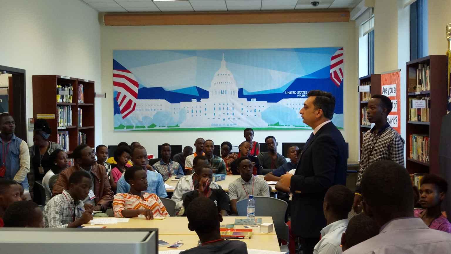 2018 EducationUSA Kigali Summer College Fair_Minerva Info Session