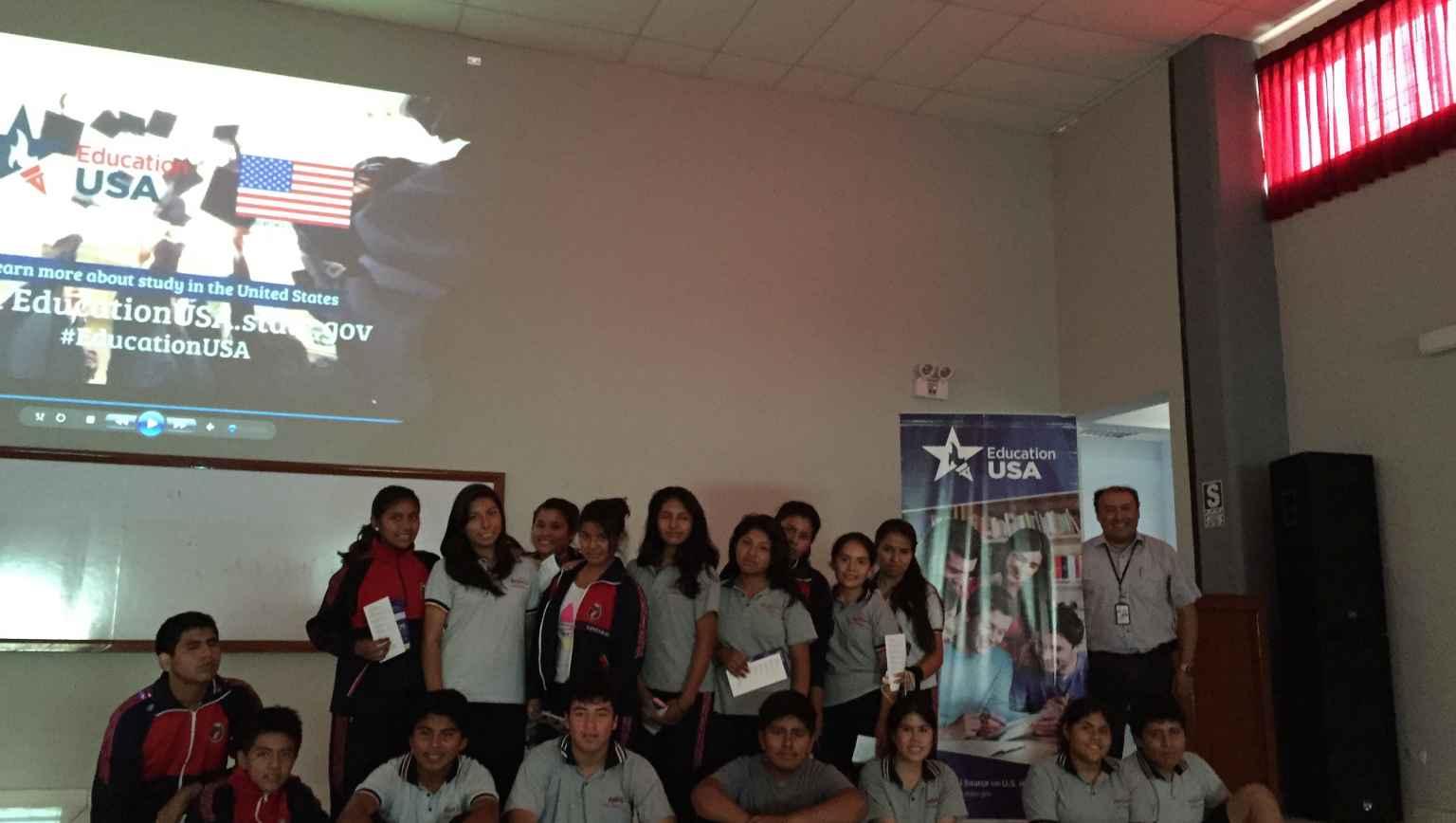 Presentations at local schools