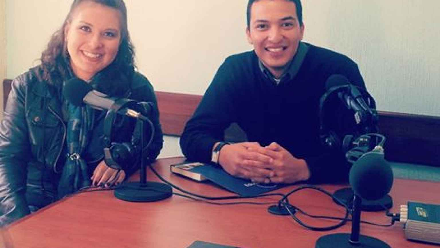 EducationUSA Xela Adviser - Interview at Stereo Vision