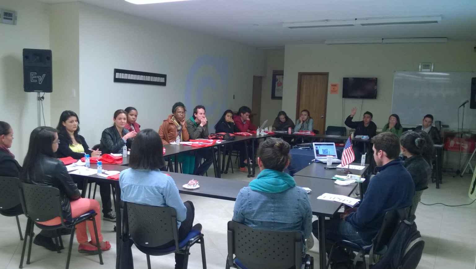 Presentations at EducationUSA BNC Bogota