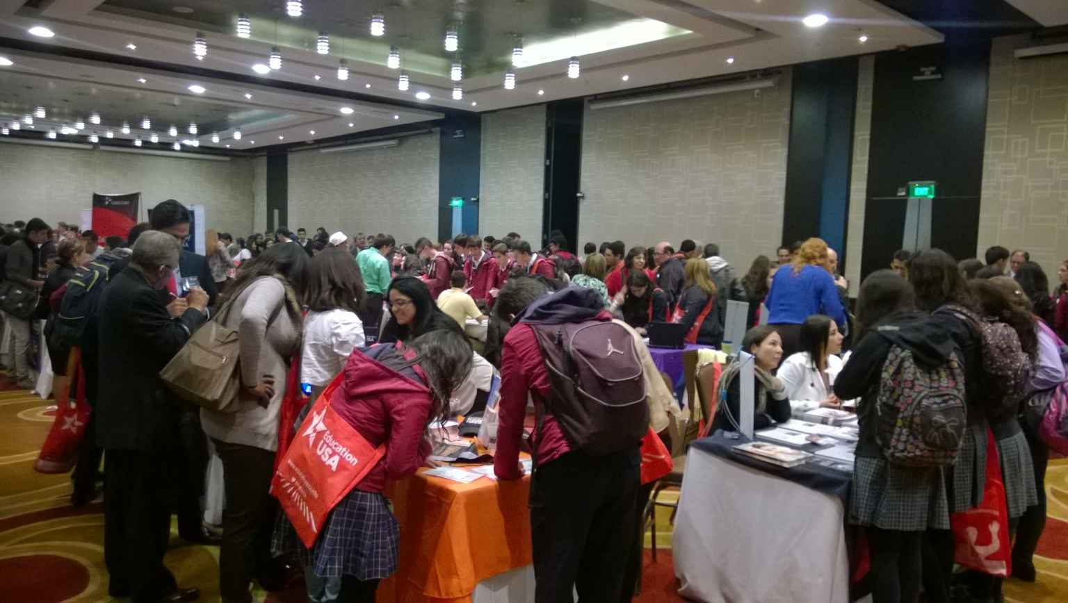 EducationUSA Fair Bogota Colombia