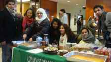 International student potluck cultural gathering