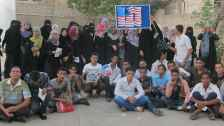 International students participating in EducationUSA Aden