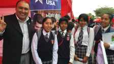 Participation at local educational fairs