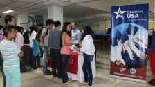 US Universities at EducationUSA Cali information desk