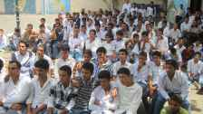 International students gather in Sana, Yemen for EducationUSA get together