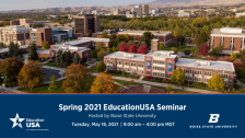 2021 EducationUSA Spring Seminar with Boise State