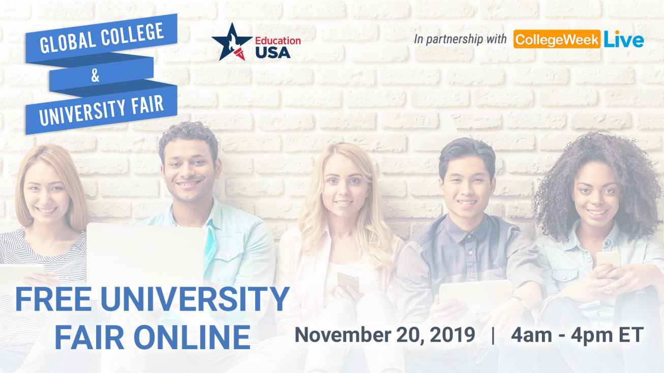 CollegeWeekLive Virtual College Fair