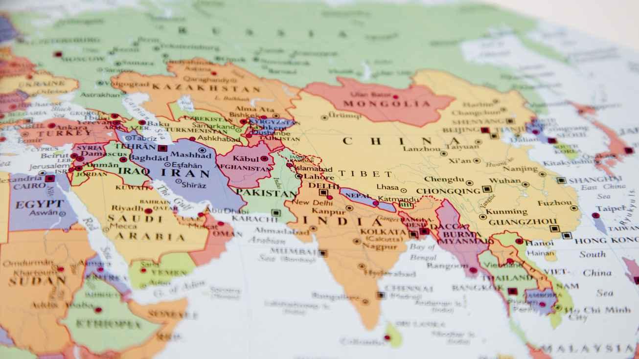 study abroad map