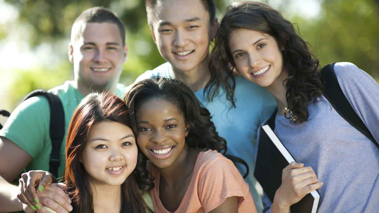 international students at a college in the United States of America