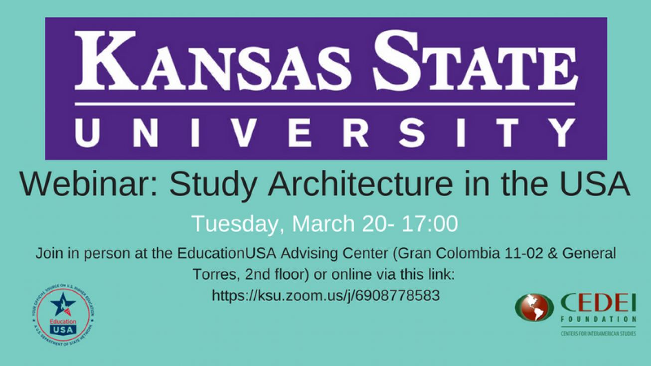 KSU Architecture Webinar: March 20 @ 5pm