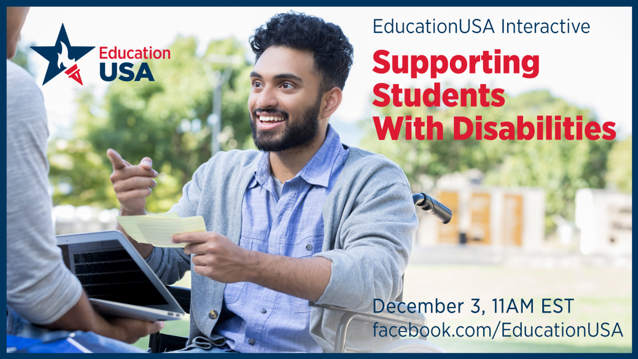 EducationUSA Interactive: U.S. Campus CultureSupporting Students with Disabilities