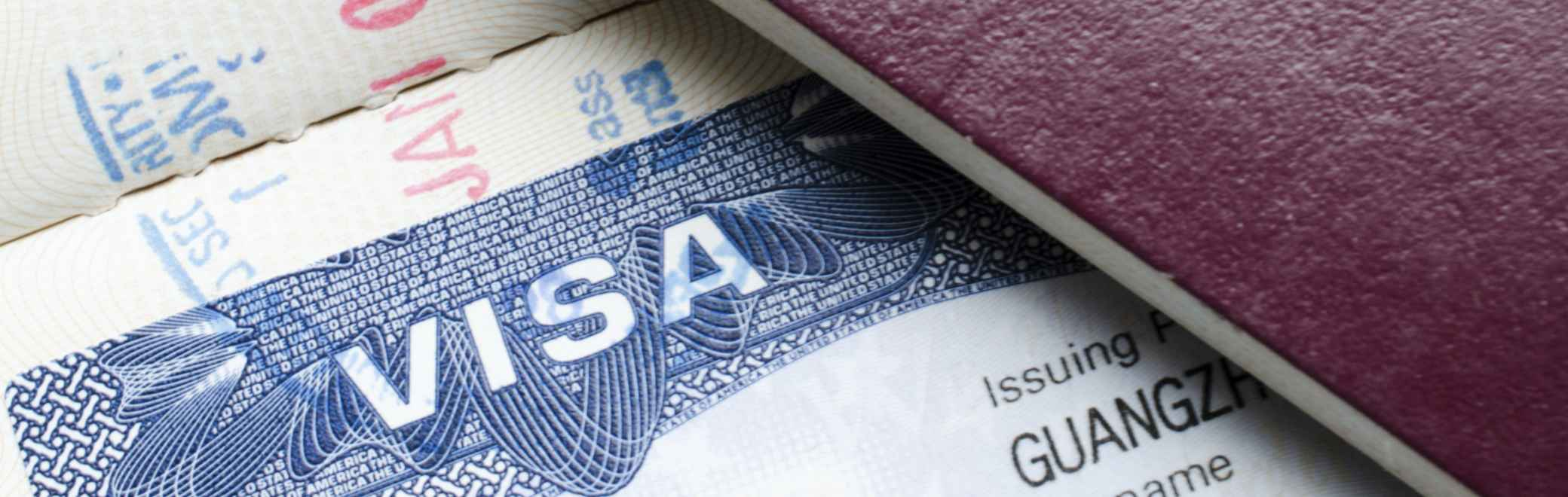 apply for your visa and passport in preparation to study in the US