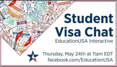 EducationUSA | Interactive Student Visa Chat (May 2018)