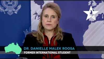 Dr. Danielle Malek Roosa Chose to Study in the U.S. Because of the Dynamic, Modern Courses.