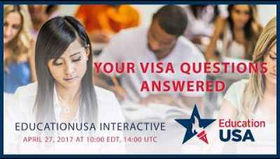 EducationUSA Interactive: Your Student Visa Questions Answered