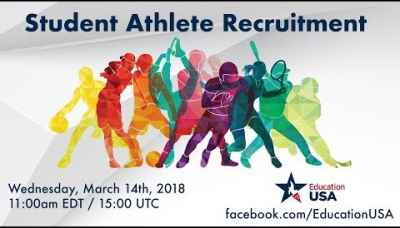 EducationUSA | Student Athlete Recruitment (March 2018)