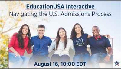 EducationUSA | Navigating the US  Admissions Process (Aug. 2018)