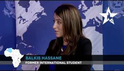 """Having professors as mentors was very important to me."" - Balkis Hassane"